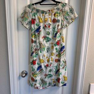 J. Crew Dresses - J. Crew Hawaiian Print Dress